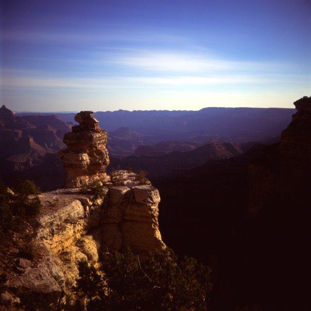 Grand Canyon under Moonlight